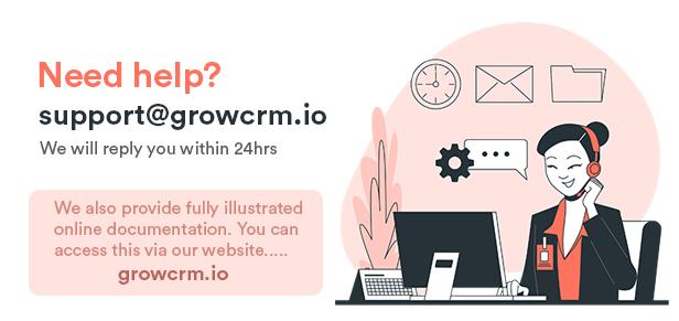 Grow - Project Management CRM - 1