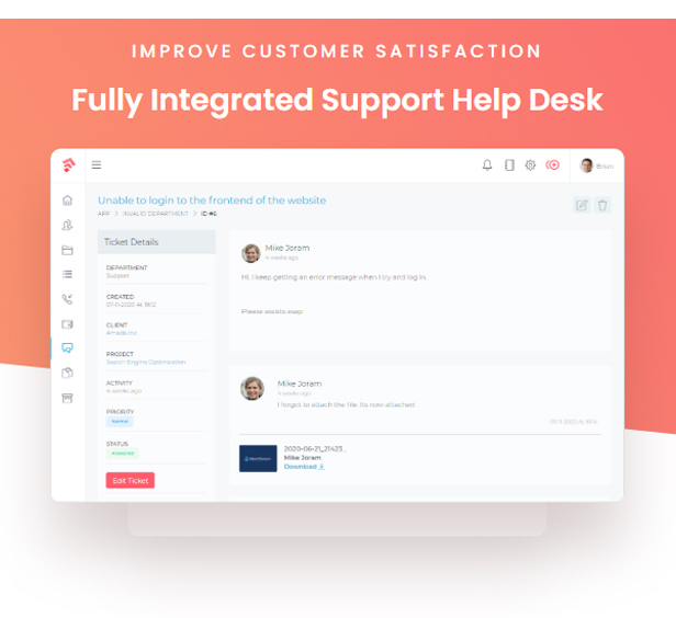 Grow - Project Management CRM With Invoicing Estimates Leads And Tasks - 14