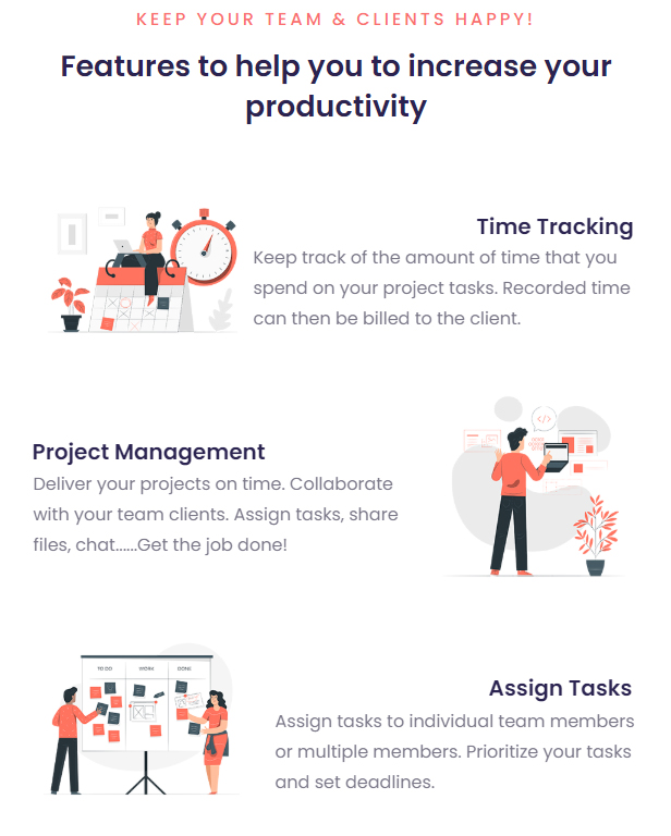 Grow - Project Management CRM With Invoicing Estimates Leads And Tasks - 10