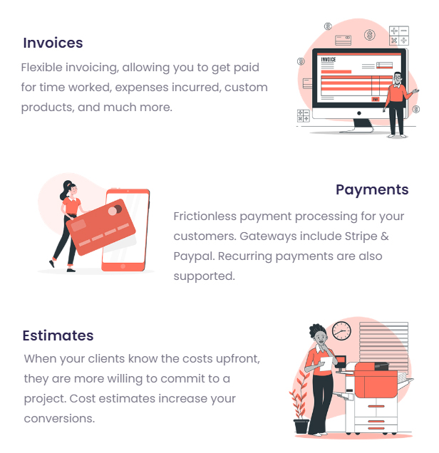 Grow - Project Management CRM With Invoicing Estimates Leads And Tasks - 11