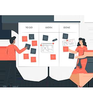 Streamline your work flows, <br> using milestones & tasks